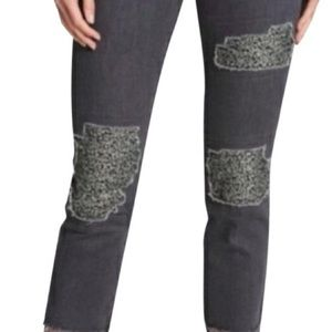 DKNY Cropped Mid-Rise Skinny Jeans Size 31